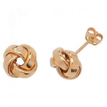 Just Gold Earrings -9 Ct Earrings, ER530